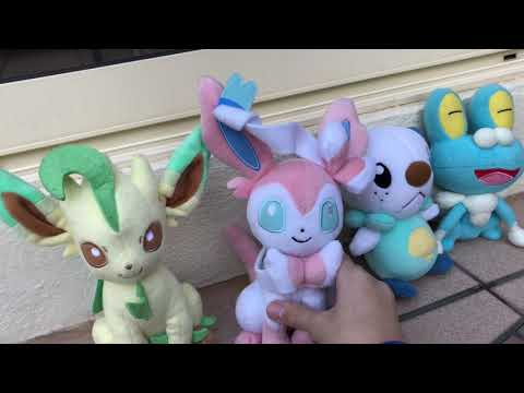 Pokemon Plush - Capture The Flag