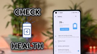 How to check Battery Health of OnePlus Smartphones
