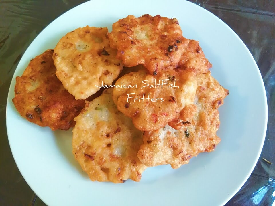 Amazing jamaican style salt fish fritters youtube for Jamaican salt fish