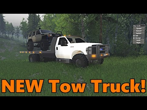 Spin Tires | NEW Tow Truck!