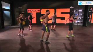 focus t25 workout 25 minutes 5 days a week 100 results