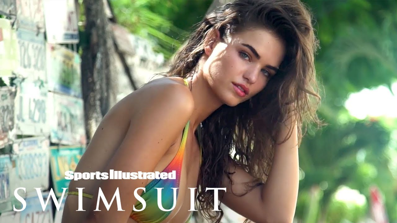 Robin Holzken Turns Up The Heat In The Bahamas | Swim Adventure
