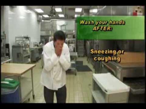 Food Worker Training Video   English 1