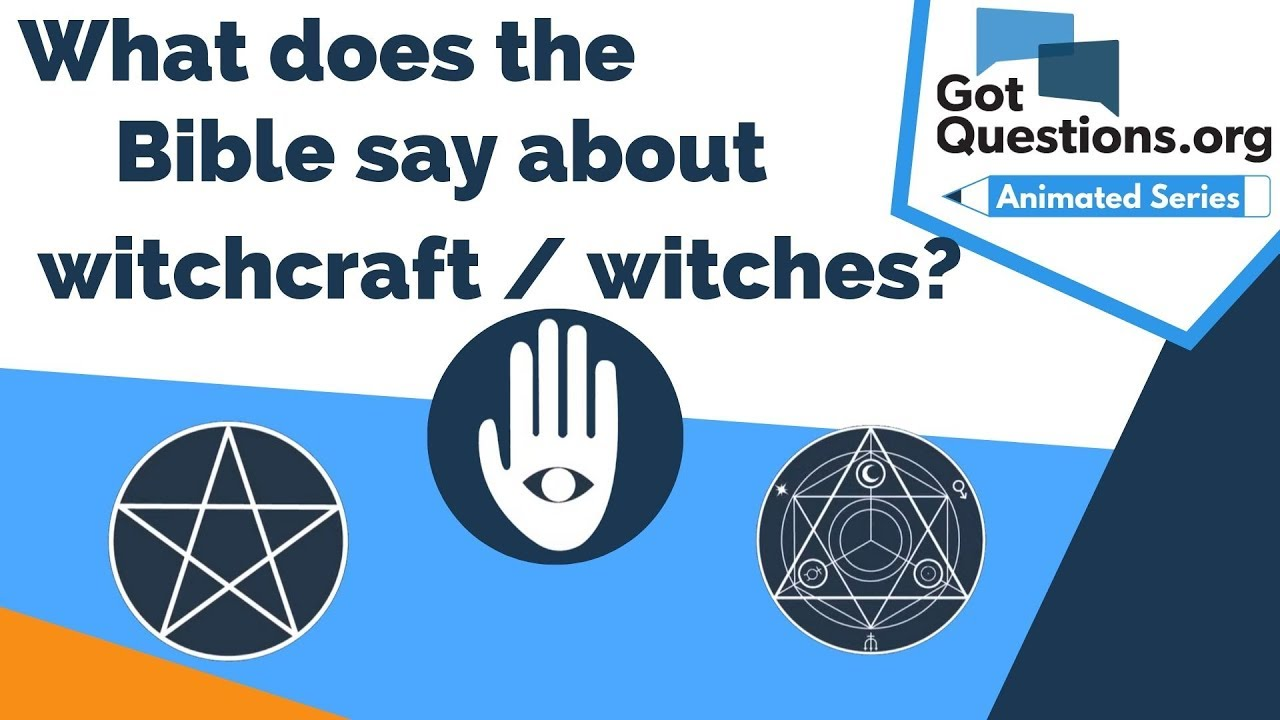 Download What does the Bible say about witchcraft / witches?