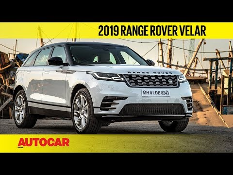 2019 Range Rover Velar - Lower Price, More Equipment | First Drive Review | Autocar India