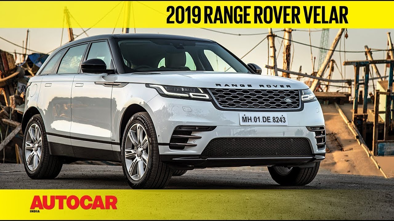 2019 Range Rover Velar Lower Price More Equipment First Drive Review Autocar India