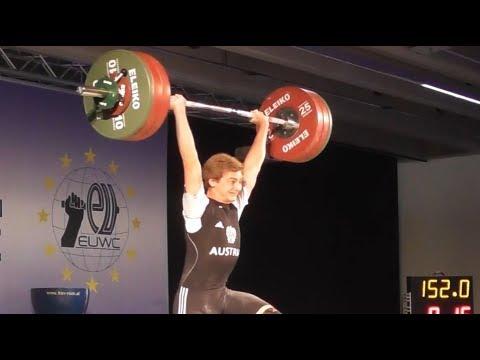 Armin Ritzer - U20 male - 2018 EU Weightlifting Cup - Innsbruck / AUT