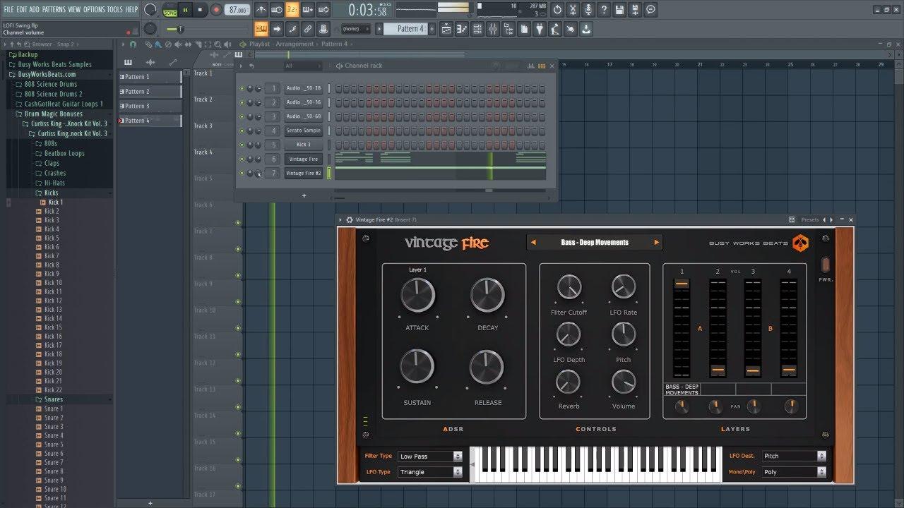 lofi hip hop drum - beats tutorial
