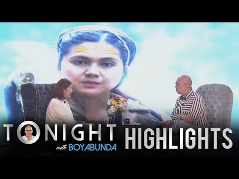 """TWBA: Dimples Talks About Her Viral Chant As Babaylan In """"Bagani"""""""