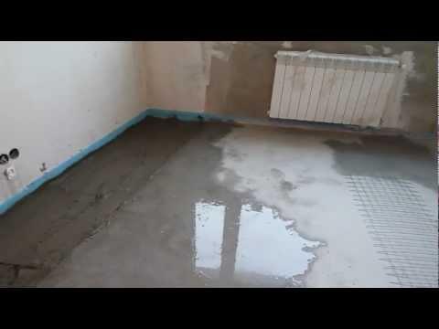 видео: условия  для заливки  стяжки