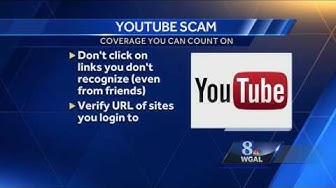 "Scam Facebook message says ""you're in a viral YouTube video"" - but you're not"