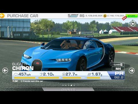 Real Racing 3 Bugatti Chiron Fully Upgraded