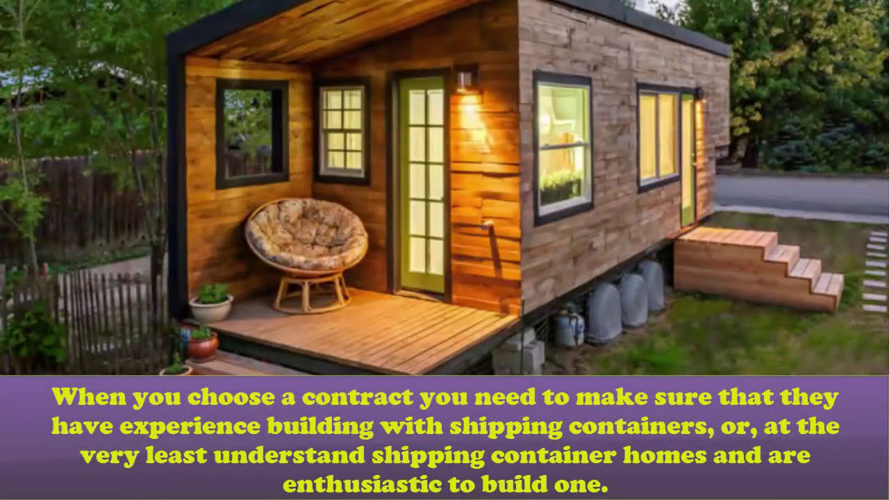 mistakes to avoid when building a shipping container homes - youtube