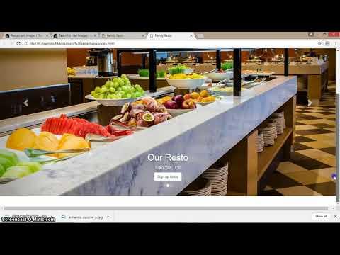 Membuat Web Restaurant Sederhana Untuk Pemula