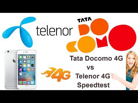 Telenor 4G LTE vs TATA DOCOMO 4G LTE Speedtest exclusive