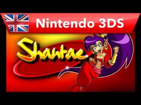 Shantae - Virtual Console Trailer (Nintendo 3DS)
