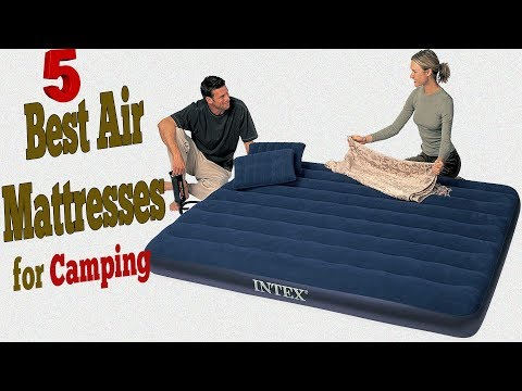 Best Air Mattress For Camping Review | Best Camping Mattress