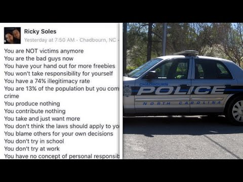 Racist Facebook Post Gets Cop Fired