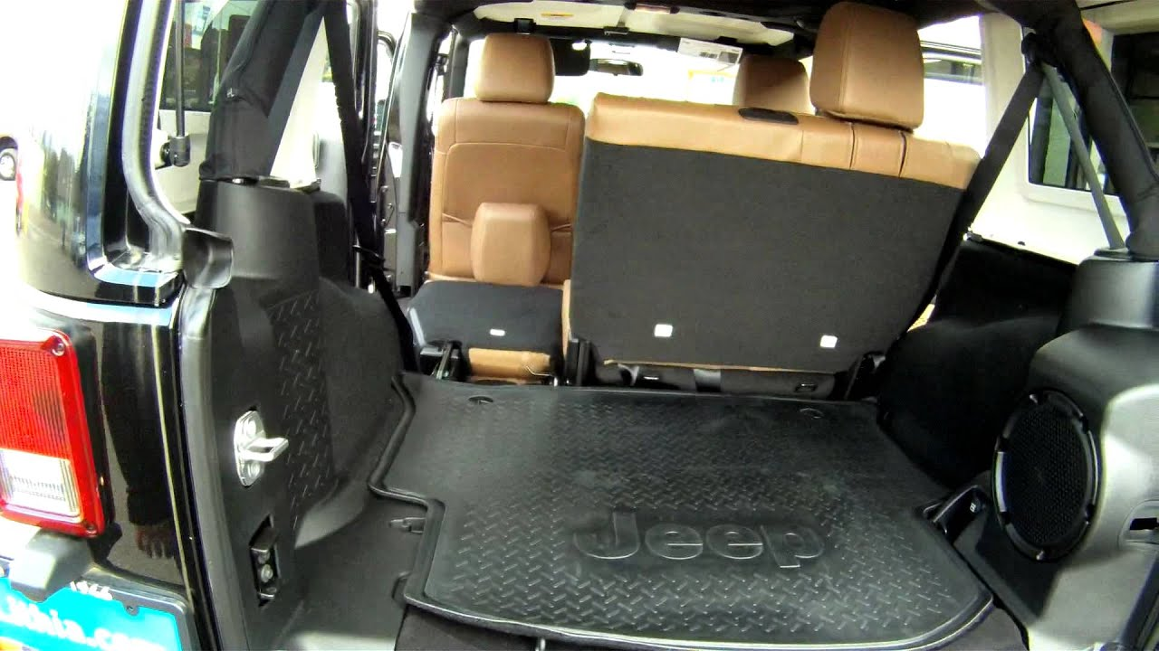 2012 Jeep Wrangler Rubicon Cargo Space Roseburg Chrysler