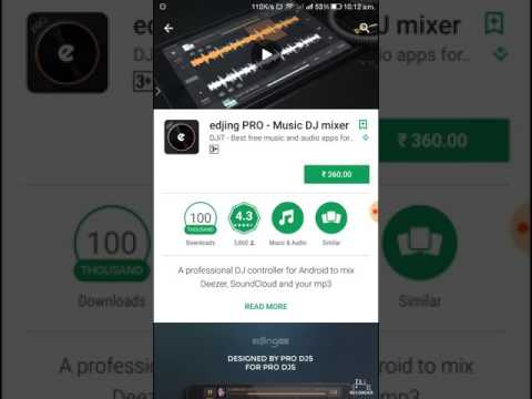 How to download editing pro-music DJ mixer free for android