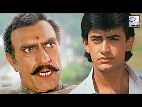 When Angry Amrish Puri BLASTED Aamir Khan - YouTube