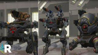 War Robots: New Robots - Invader, Blitz, Rayker | Test Server 4.2