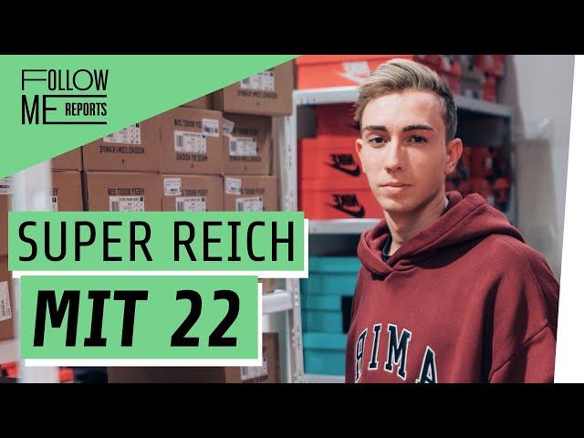 Jung & reich: Fabian macht Millionen mit Sneakern
