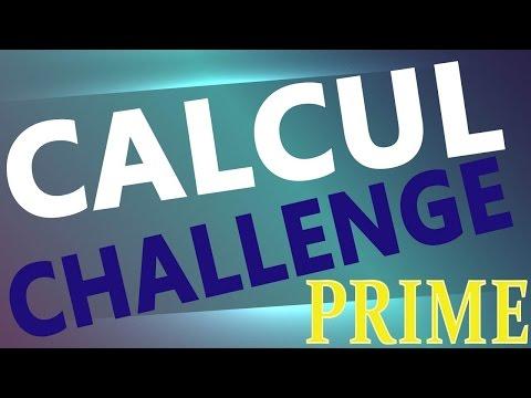 calcul challenge défi