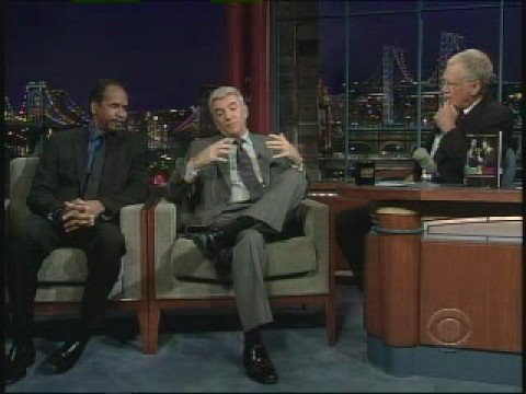 Tim Reid and Tom Dreesen on Letterman
