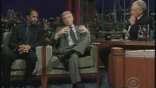 Tim Reid and Tom Dreesen on Letterman