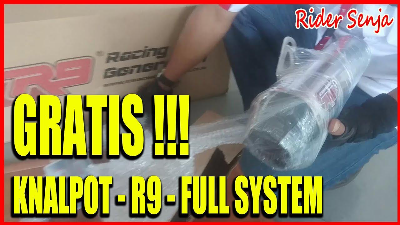 Knalpot R9 Gratis Gini Caranya Youtube Assen Honda All New Cbr 250 Full System