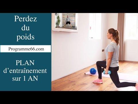 Programmes d'entraînement en VIDEO pour PERDRE du POIDS efficacement et durablement à la maison