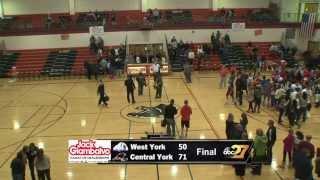 West York @ Central York Basketball