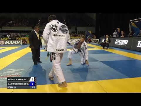 Leandro Lo vs Nicholas Meregali  Pan Championship 2017