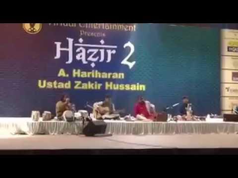 Live Ghazal | Hariharan | Ustad Zakir Hussain