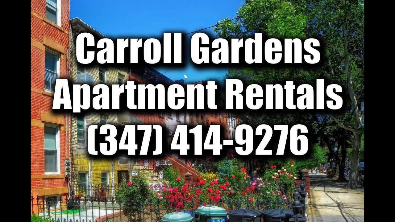 Carroll Gardens Apartments For Rent Brooklyn Real Estate YouTube