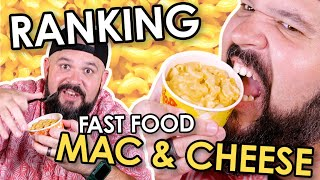 Ranking Fast Food Mac and Cheese | Bless Your Rank