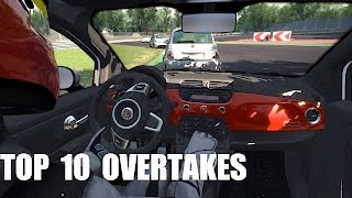 Assetto Corsa ONLINE Championship: TOP 10 overtakes