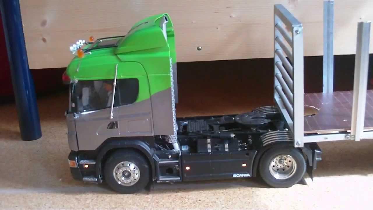 Tamiya Scania R470 Truck with Exhaust Pipe Smoke (mit Auspuffqualm
