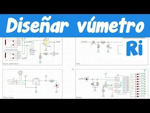 Como diseñar un vumetro con lm3915