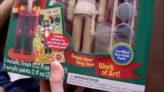 Masterpieces Works of Ahhh Nutcracker Soldier Kids Art Activity