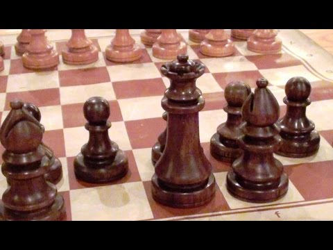 Woodturning a Chess Set - The Queen!