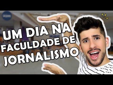 UM DIA NA FACULDADE DE JORNALISMO - Vlog