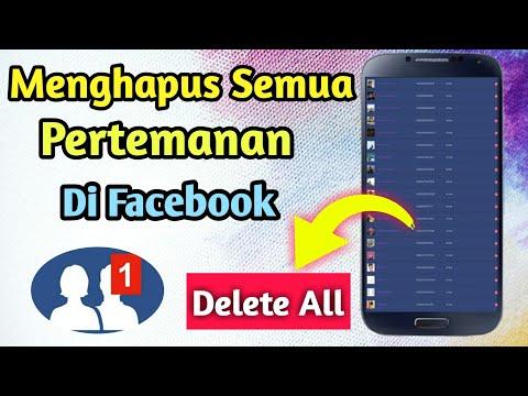 Cara Hapus Pertemanan di Facebook sekaligus dengan menggunakan HP cara ini mungkin saja berguna untu.