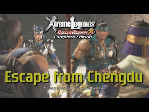 Dynasty Warriors 8 Xtreme Legends | Escape from Chengdu (Jin Xtreme Legend Stages Ep.5)