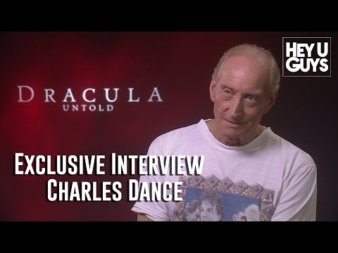 Charles Dance - Dracula Untold Exclusive Interview