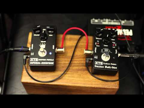 XAct Tone Solutions - XTS - Imperial Overdrive - Precision Multi-Drive - Pedal Demo