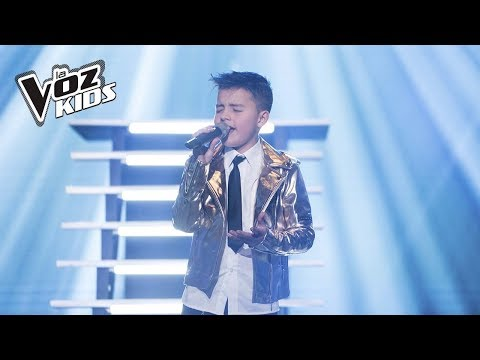 Juanse canta ¿Cómo Mirarte? | La Voz Kids Colombia 2018