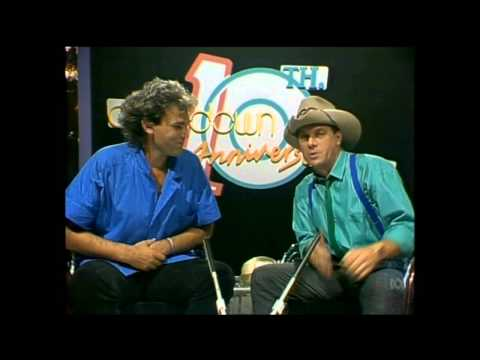 Countdown (Australia)- Molly Meldrum Interviews Marc Hunter from Dragon- October 28, 1984
