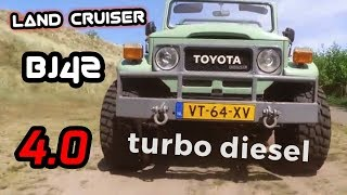 4.0 TURBO Diesel 12H-T engine in a Toyota Land Cruiser 40 / Bj42, Filmed with my DJI Osmo cam